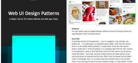 Free ebook on web UI design patterns | Web design | Creative Bloq