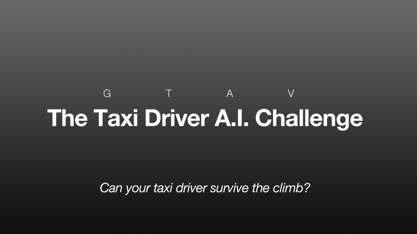 Die GTA V A.I.-Driverchallenge