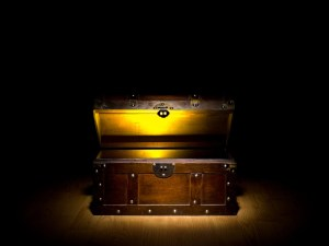 treasure chest to lock away your sex toys
