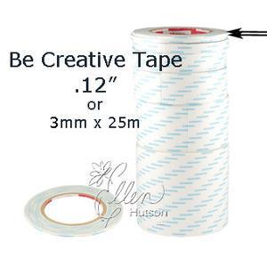 "Be Creative Tape, 3mm (1/8"") - 049008760400"