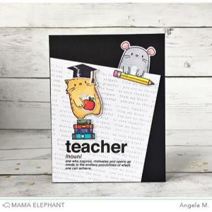Mama Elephant Clear Stamps, Words Defined -