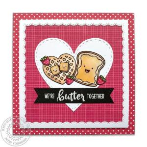 Sunny Studio Stamps Clear Stamps, Breakfast Puns - 0649964636032