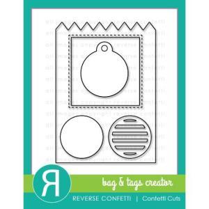 Bag & Tags Creator, Reverse Confetti Cuts -