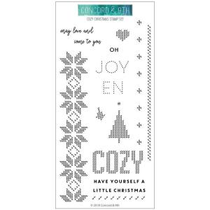 Cozy Christmas, Concord & 9th Clear Stamps - 902223994022