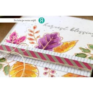 Fall Foliage, Reverse Confetti Clear Stamps -
