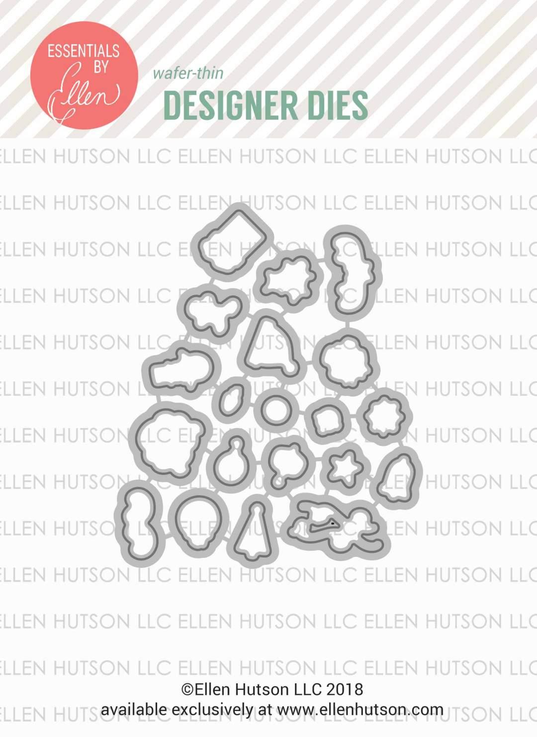 Essentials by Ellen Ugly Sweater Accessories dies