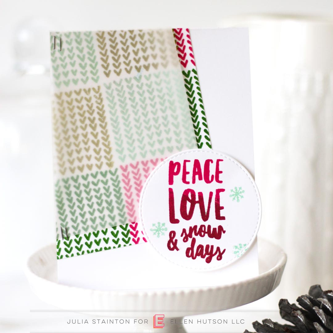 Essentials by Ellen Snow Days card by Julia Stainton