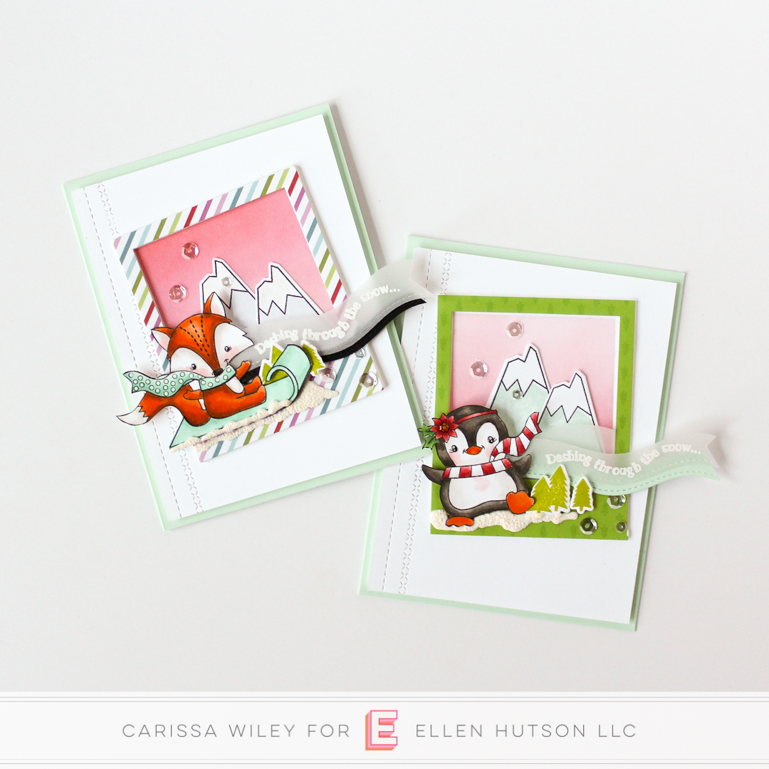 Holiday Trends 2018 Winter Wonderland cards by Carissa Wiley