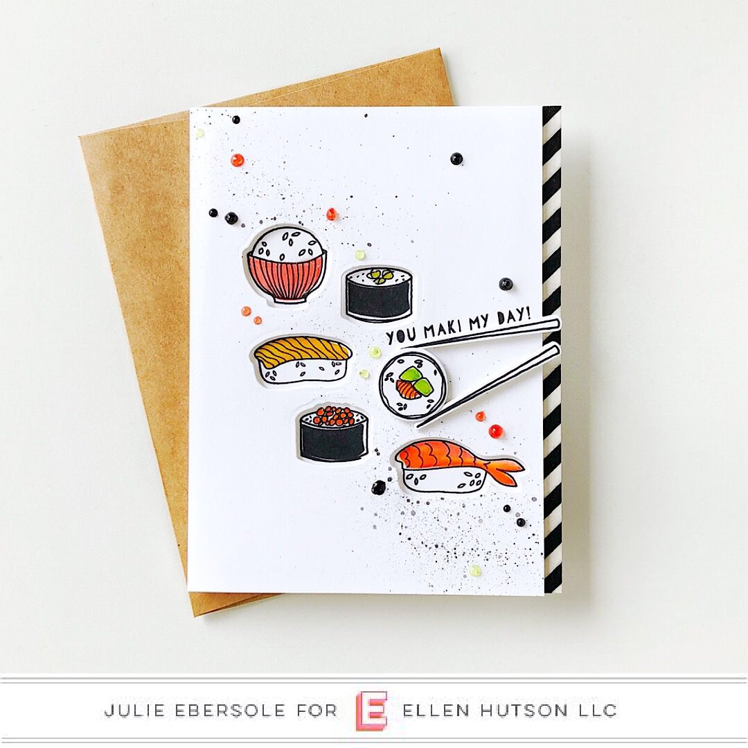 Essentials by Ellen Wasabi card by Julie Ebersole