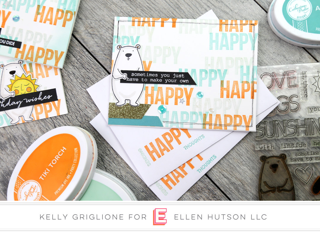 Essentials by Ellen All Inside and Totally Random Sayings Vol. 2 cards by Kelly Griglione
