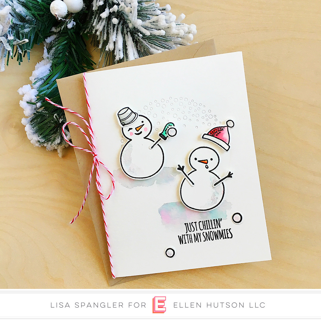 Essentials by Ellen Snow Buds card by Lisa Spangler