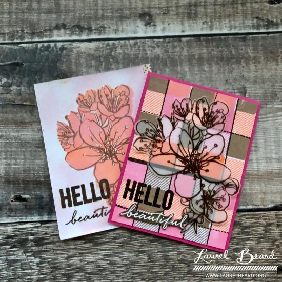 Essentials by Ellen Mondo Sakura cards by Laurel Beard