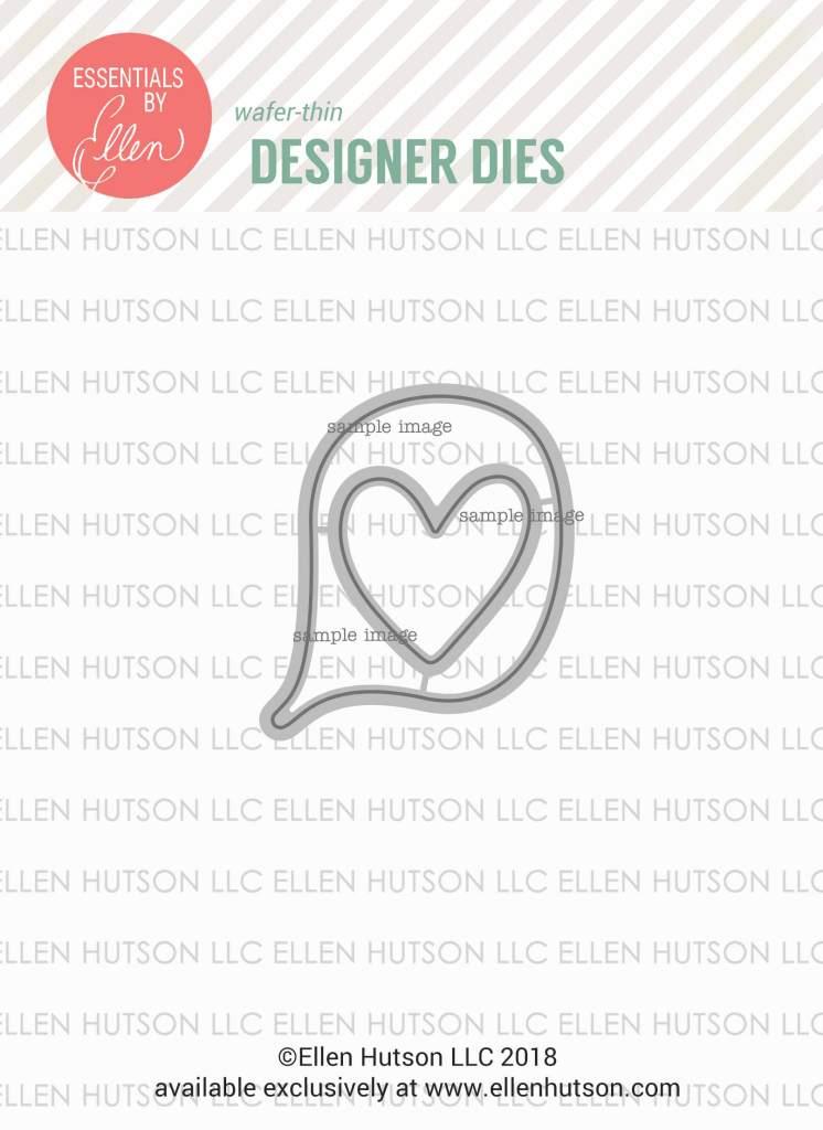 Essentials by Ellen High Five dies