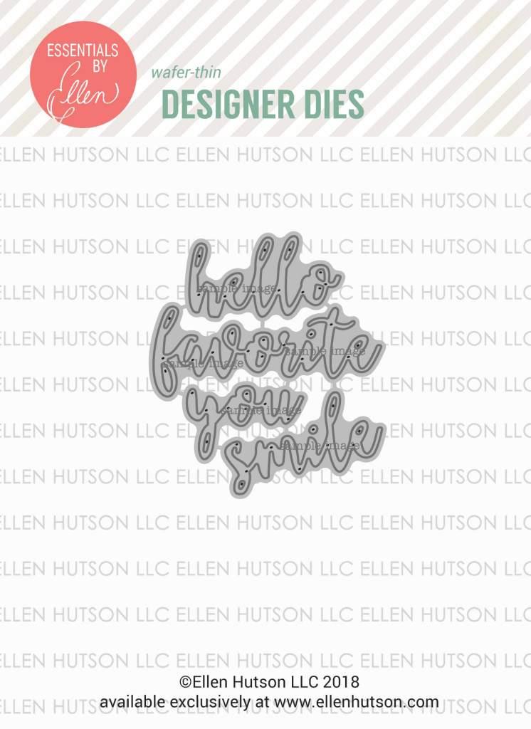 Essentials by Ellen Letterboard Script 2