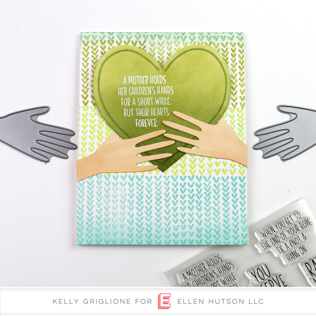 Essentials by Ellen Hands card by Kelly Griglione