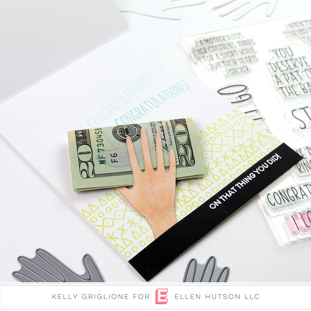 Essentials by Ellen Hands card inside by Kelly Griglione