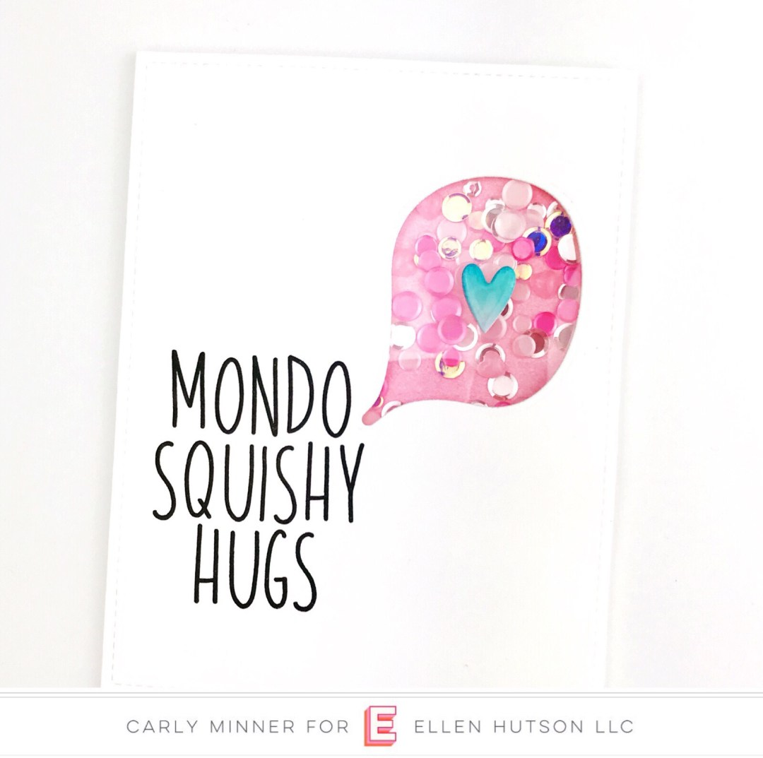 Essentials by Ellen High Five card by Carly Tee Minner