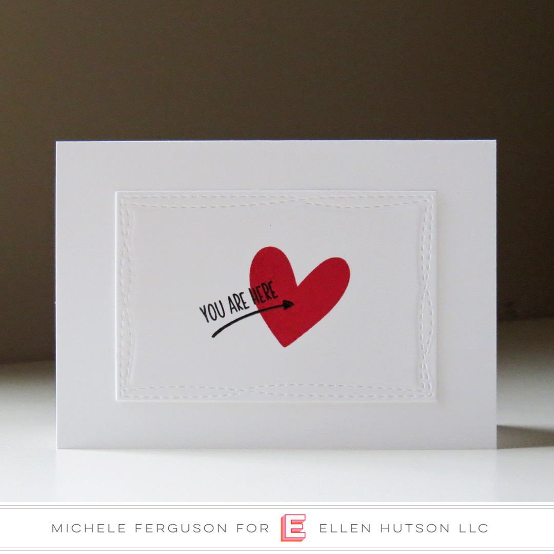 Essentials by Ellen High Five card by  Michele Ferguson