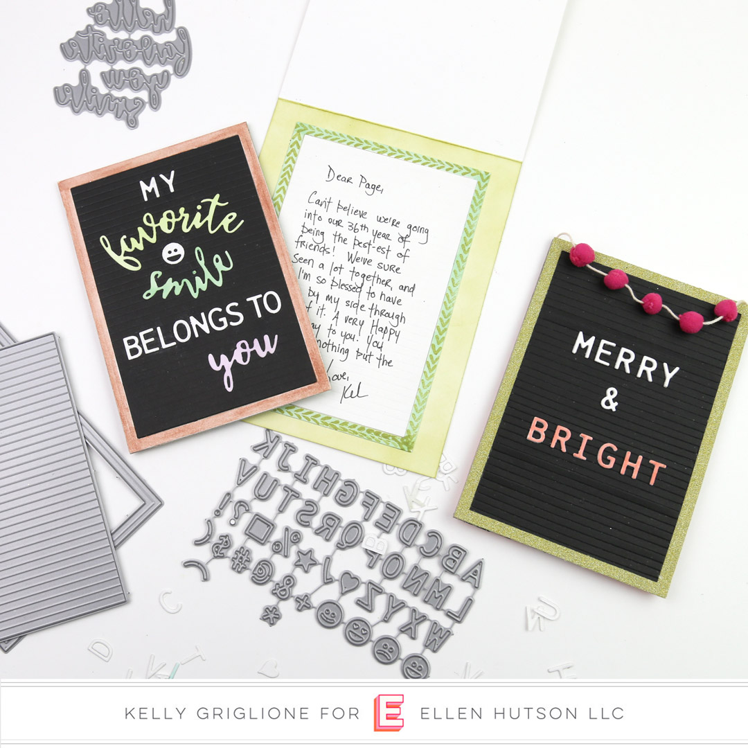 Essentials by Ellen Letterboard card by Emily Midgett