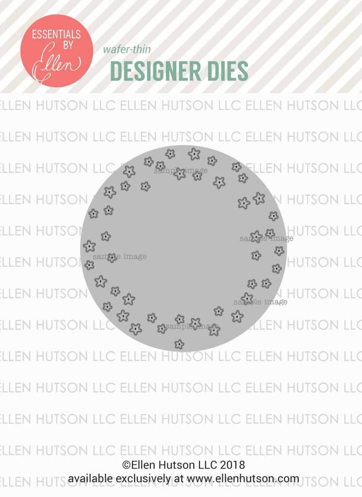 Essentials by Ellen Circle of Stars die