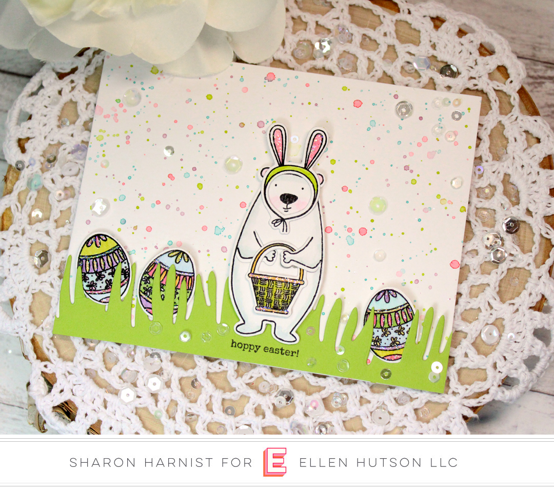 Essentials by Ellen Bear Ware 3 card by Sharon Harnist