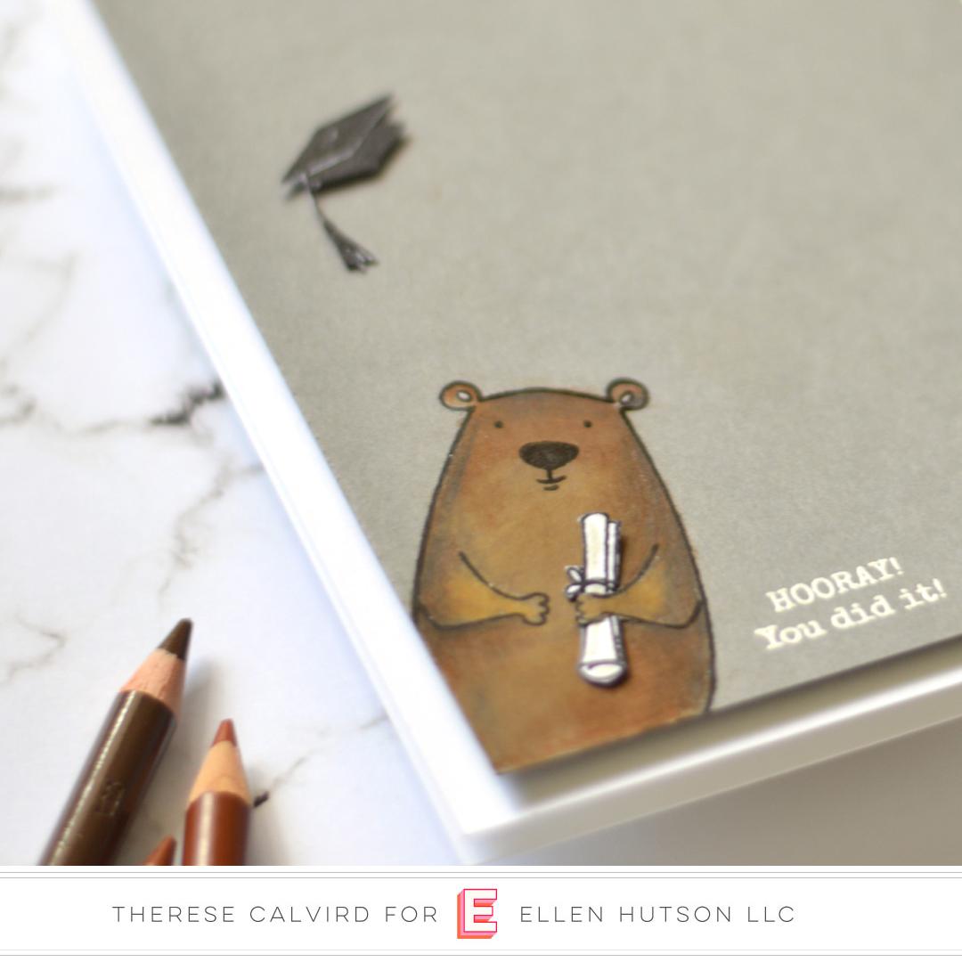 Essentials by Ellen Bear Ware 3 card by Therese Calvird