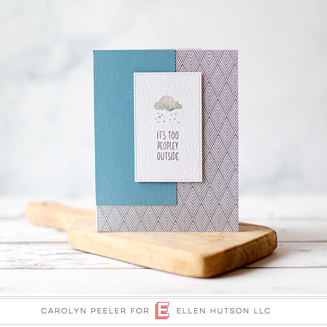 Essentials by Ellen Latte Love Card by Carolyn Peeler