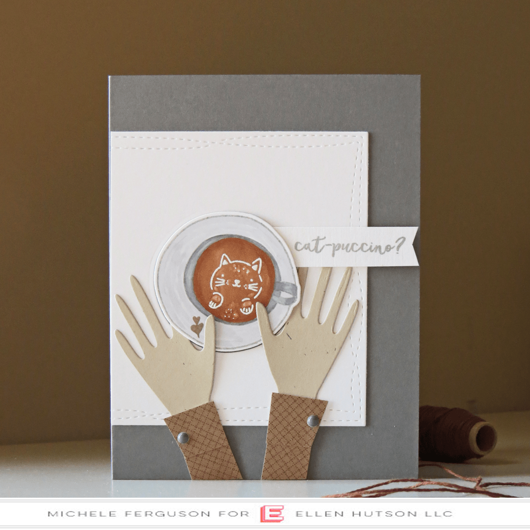 Essentials by Ellen Latte Love Card by Michele Ferguson