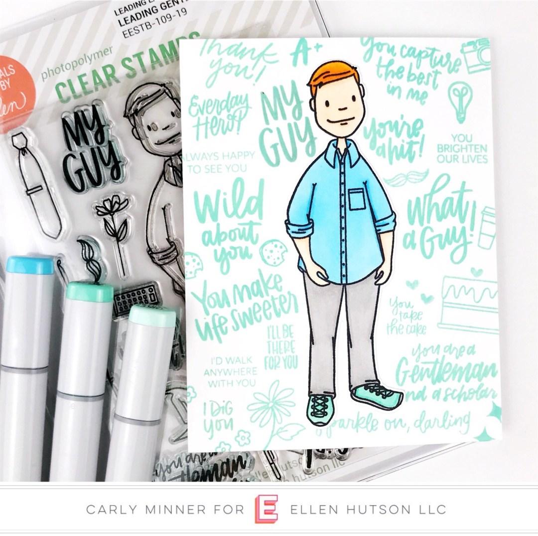 Essentials by Ellen Leading Gentleman card by Carly Tee Minner