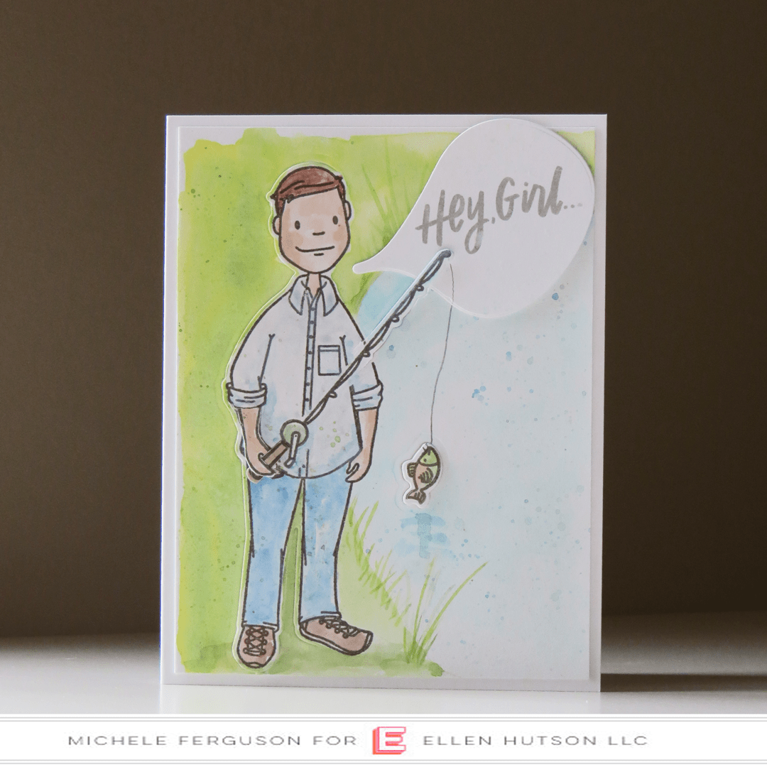 Essentials by Ellen Leading Gentleman card by Michele Ferguson