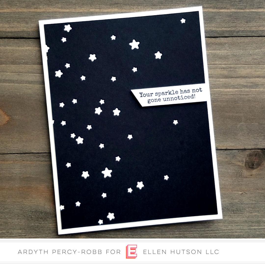 Essentials by Ellen Starry Night card by Ardyth Percy-Robb