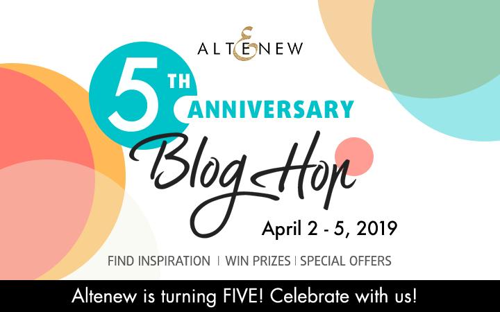 Altenew 5th Anniversary Hop
