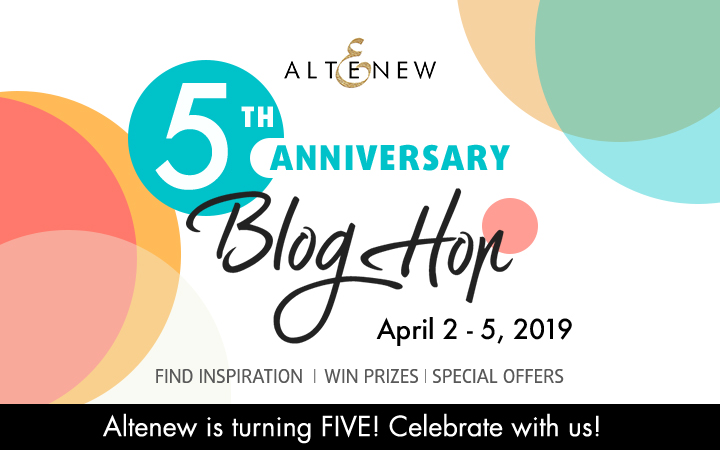 Altenew 5th Anniversary Hop
