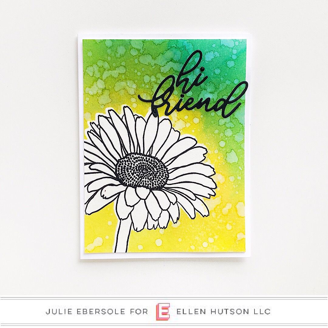 Blended Backgrounds with Distress Oxide Sprays and Essentials by Ellen