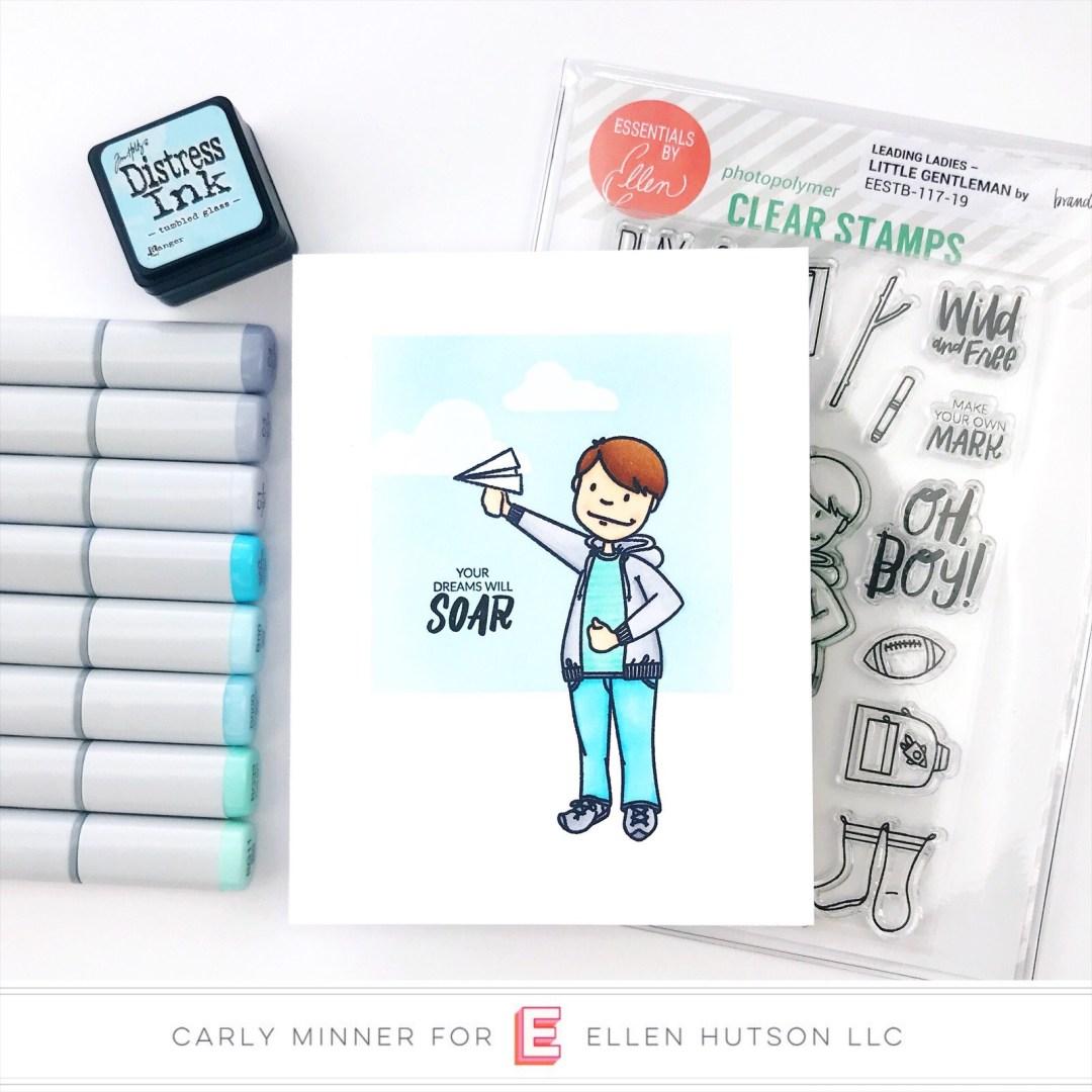 Essentials by Ellen Little Gentleman card by Carly Tee Minner