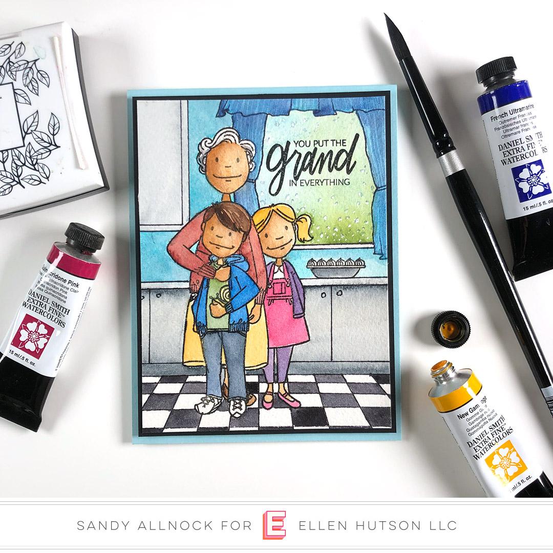 Essentials by Ellen Little Gentleman card by Sandy Allnock
