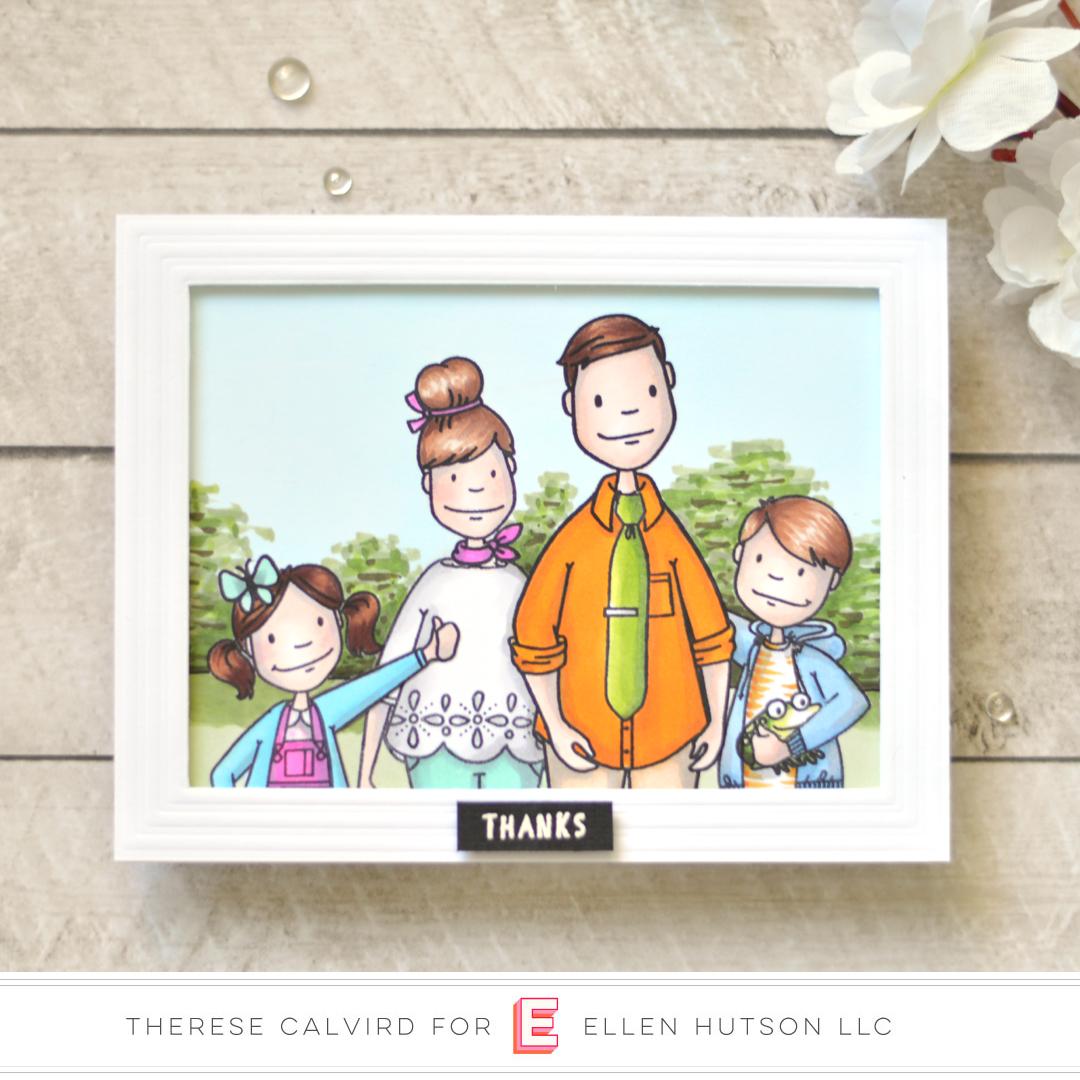 Essentials by Ellen Little Gentleman card by Therese Calvird