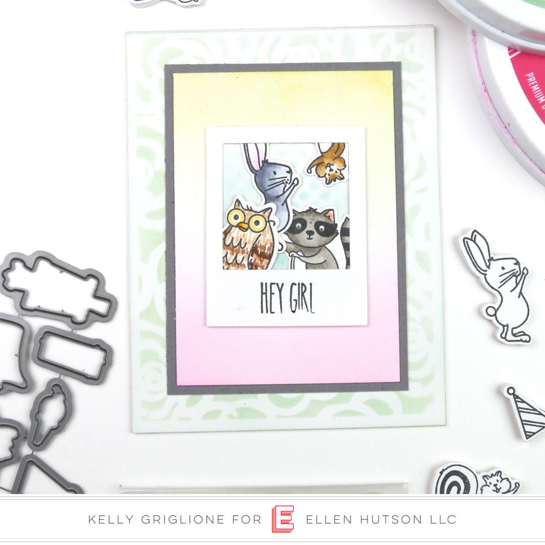 Essentials by Ellen Backyard Party card by Kelly Griglione