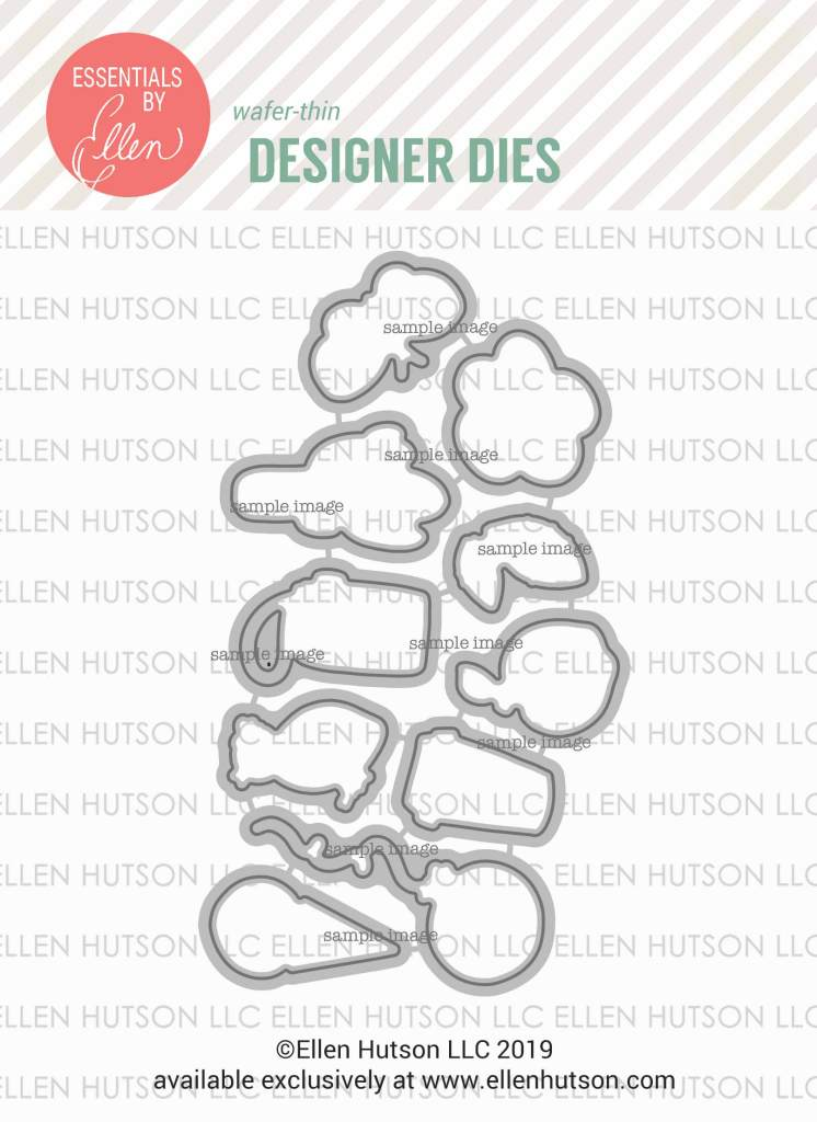 Essentials by Ellen Everyday Doodles dies