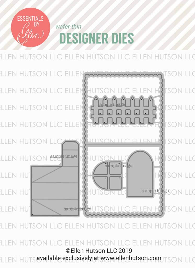 Essentials by Ellen House Box Add-On dies