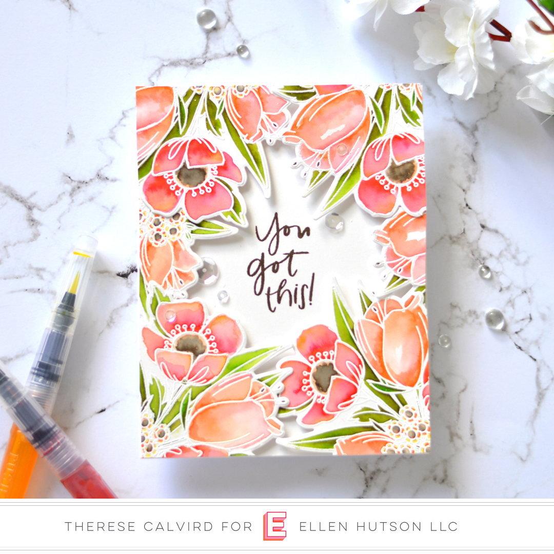 Watercolor Mondo Wildflowers 3 Ways