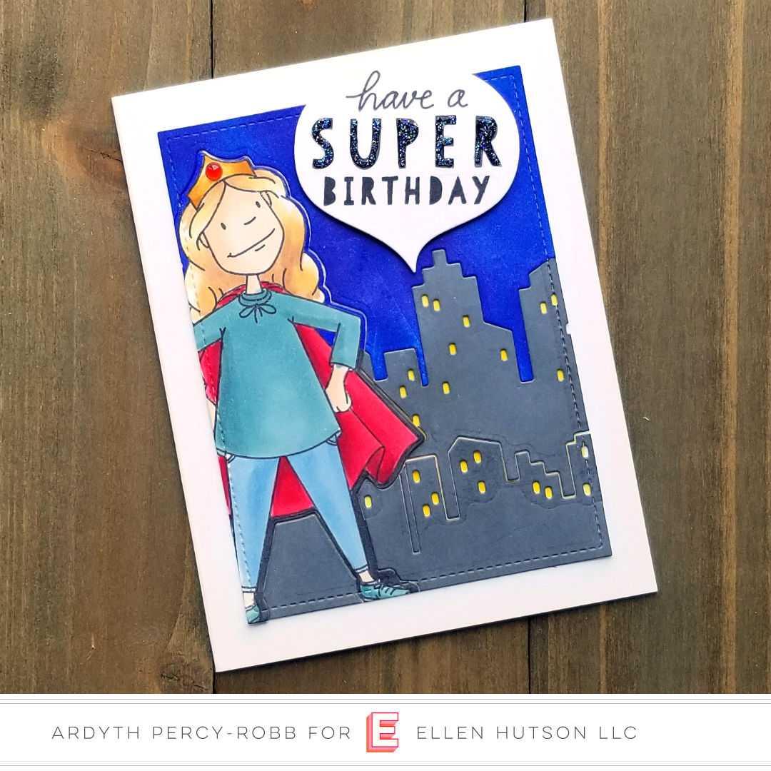 Essentials by Ellen Big City card by Ardyth Percy-Robb