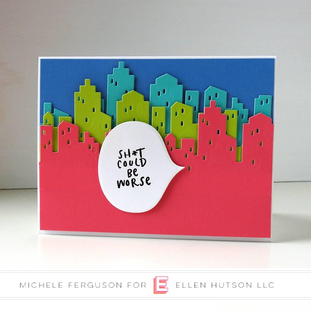 Essentials by Ellen Big City card by Michele Ferguson