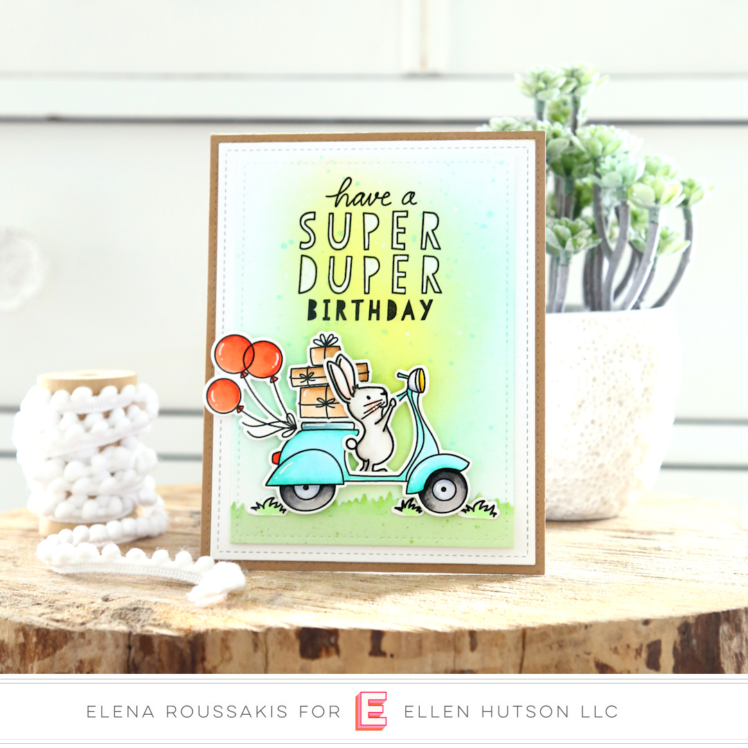 Essentials by Ellen Good Times card by Elena Roussakis