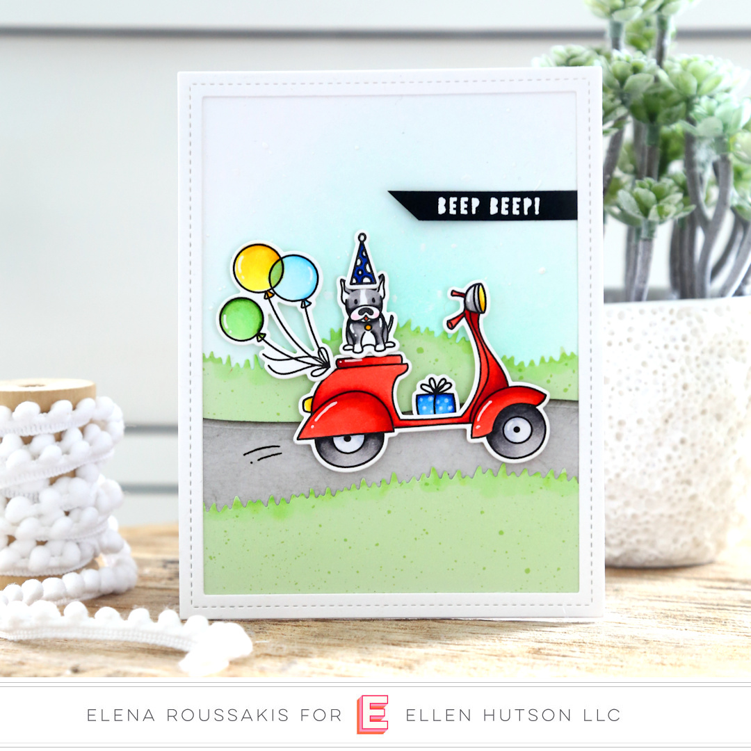 Essentials by Ellen Good Times card by Elena Roussakis