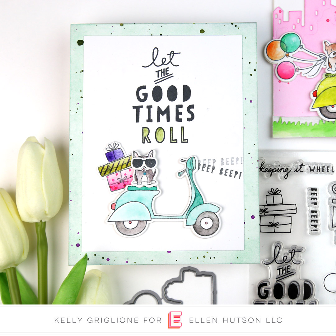 Essentials by Ellen Good Times card by Kelly Griglione