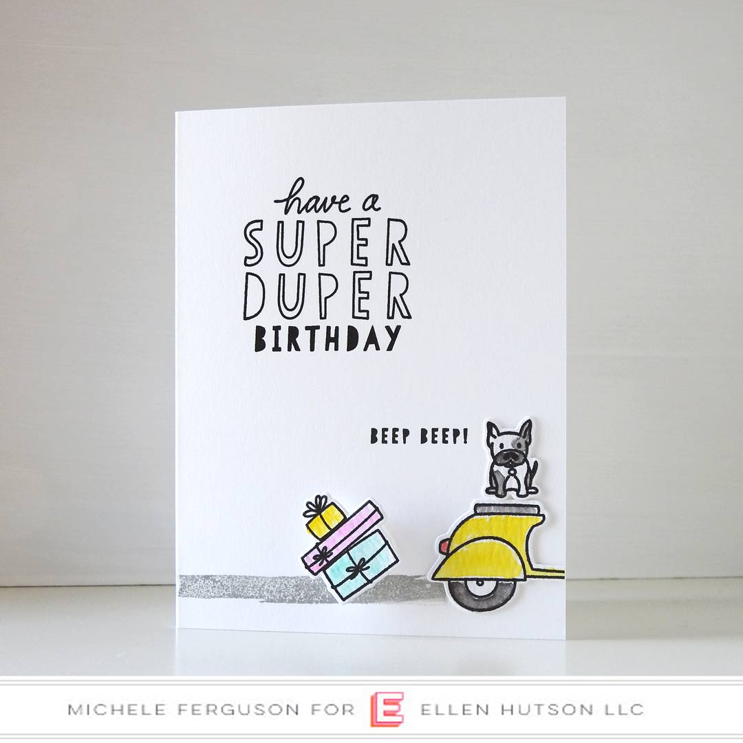 Essentials by Ellen Good Times card by Michele Ferguson