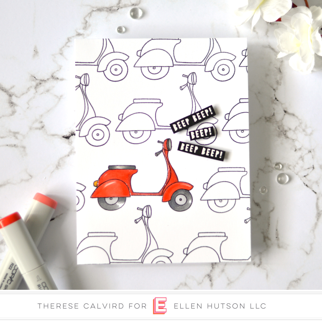 Essentials by Ellen Good Times card by Therese Calvird