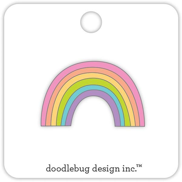 Doodlebug Rainbow Pin