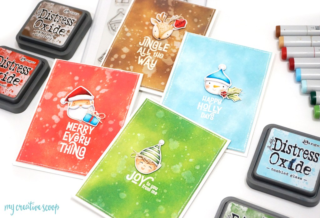 Simple DIY Holiday Cards With Essentials By Ellen